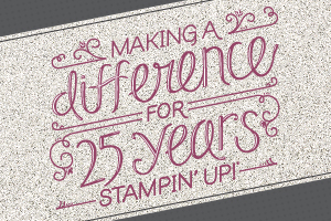 Make a difference 25 years
